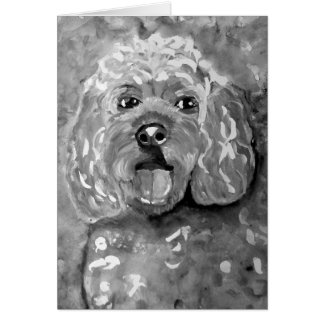 PhoebethePrincess, Cavapoo, Greetings Card