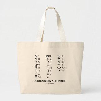 Phoenician Alphabet (Linguistics Cryptography) Bag