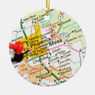 Phoenix, Arizona Christmas Ornament