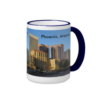 Phoenix, Arizona Downtown Ringer Mug
