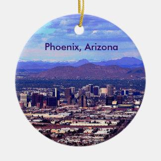 Phoenix, Arizona Skycape in Daytime Christmas Ornament