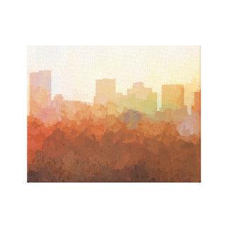 PHOENIX, ARIZONA SKYLINE-In the Clouds Canvas Canvas Print