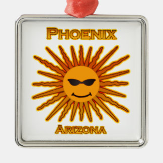 Phoenix Arizona Sun Logo Christmas Ornament