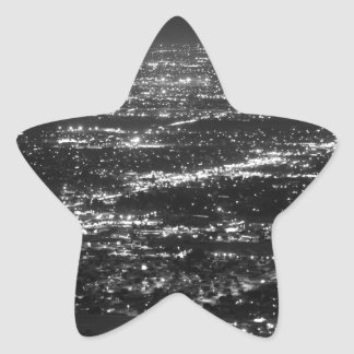 Phoenix at Night Star Sticker