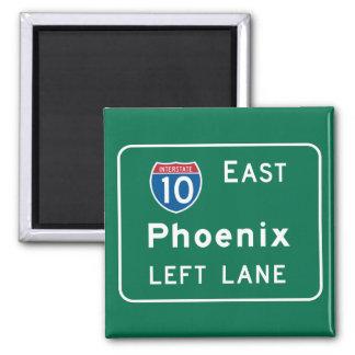 Phoenix, AZ Road Sign Magnet