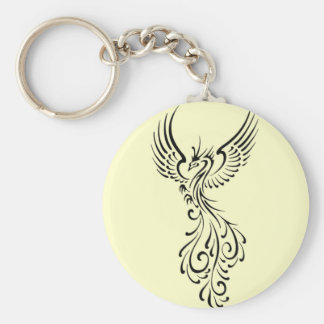 Phoenix Basic Round Button Key Ring