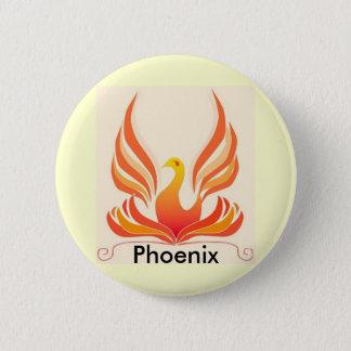 Phoenix Bird 6 Cm Round Badge