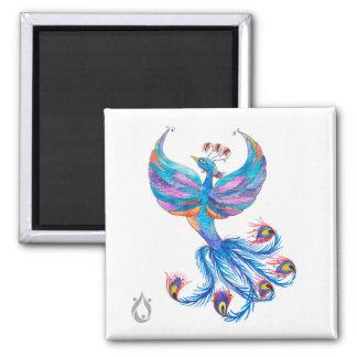 Phoenix Bird Art - Voyager Magnet