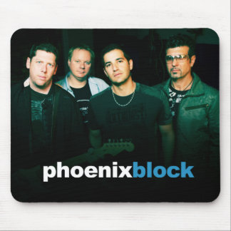 Phoenix Block Mousepad