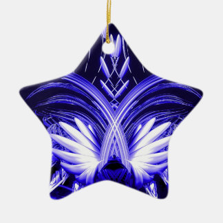 Phoenix Blue.jpg Ceramic Star Decoration