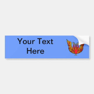 Phoenix - Book of Monsters - Ancient Greece Car Bumper Sticker