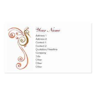 Phoenix Double-Sided Standard Business Cards (Pack Of 100)