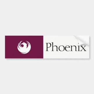 Phoenix city flag bumper sticker