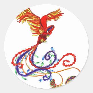 Phoenix Classic Round Sticker