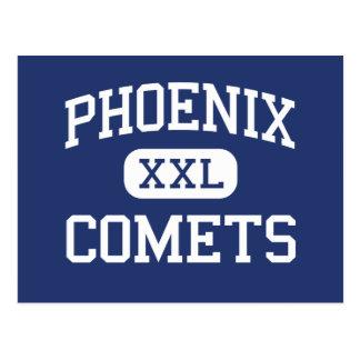 Phoenix Comets Middle Delavan Wisconsin Postcard