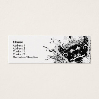Phoenix Crest Mini Business Card