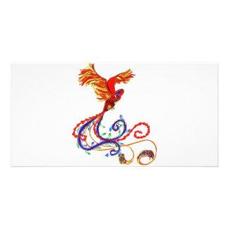 Phoenix Customised Photo Card
