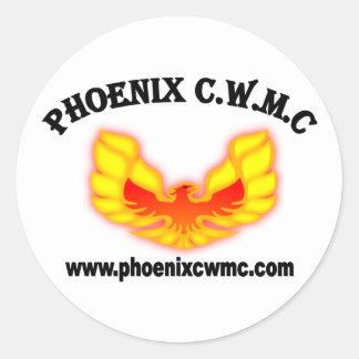 Phoenix CWMC Logo Classic Round Sticker