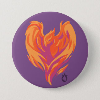 Phoenix Fire Voyager Large Button