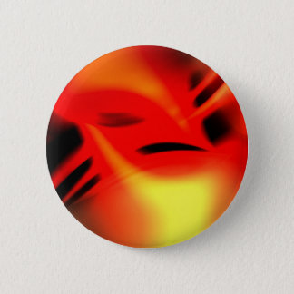 Phoenix Flames 6 Cm Round Badge