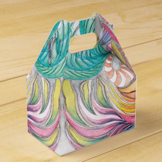 Phoenix Fronds Gable Gift Box