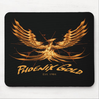 Phoenix Gold Mouse Pad