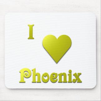 Phoenix -- Gold Mouse Mat