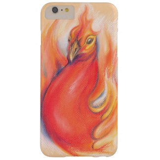 Phoenix in the Flames Pastel Art Barely There iPhone 6 Plus Case