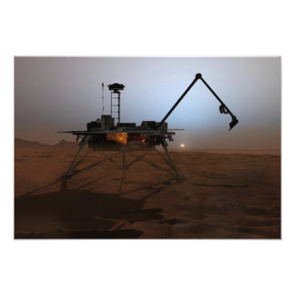 Phoenix Mars Lander 3 Photographic Print