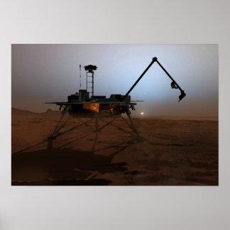 Phoenix Mars Lander 3 Poster