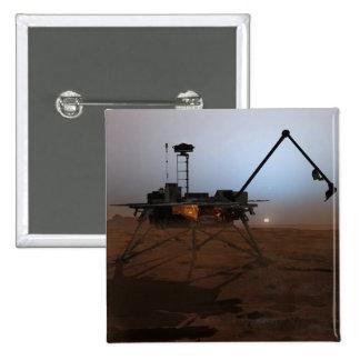 Phoenix Mars Lander 4 15 Cm Square Badge