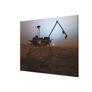 Phoenix Mars Lander 4 Gallery Wrapped Canvas