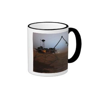 Phoenix Mars Lander 4 Ringer Mug