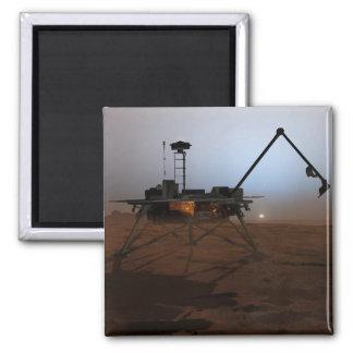 Phoenix Mars Lander 4 Square Magnet