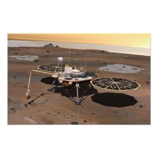 Phoenix Mars Lander Art Photo