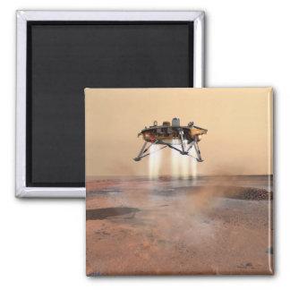 Phoenix Mars Lander Square Magnet