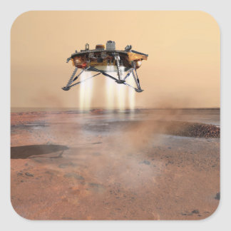 Phoenix Mars Lander Stickers