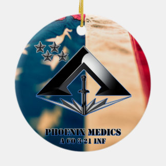 Phoenix medics christmas ornament