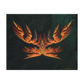 Phoenix of Concordia - Landscape Stretched Canvas Print