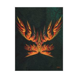 Phoenix of Concordia - Portrait Gallery Wrapped Canvas