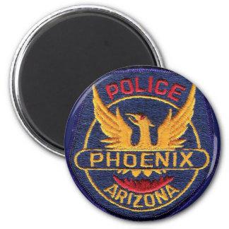 Phoenix Police Magnet Button