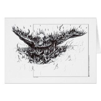 Phoenix Reborn Greeting Card