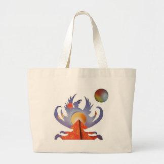 Phoenix Rising Large Tote Bag