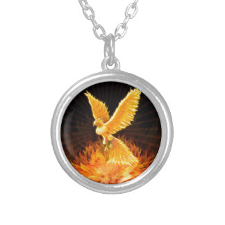 Phoenix Rising Personalized Necklace