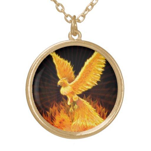 Phoenix Rising Necklace / Locket Jewelry
