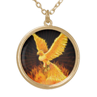 Phoenix Rising Necklace / Locket Jewelry