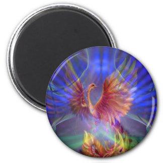 Phoenix Rising Refrigerator Magnet