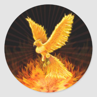 Phoenix Rising - Sticker