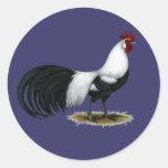 Phoenix:  Silver Duckwing Rooster Sticker