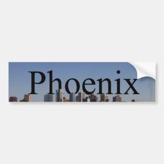 Phoenix Skyline with Phoenix in the Sky Car Bumper Sticker